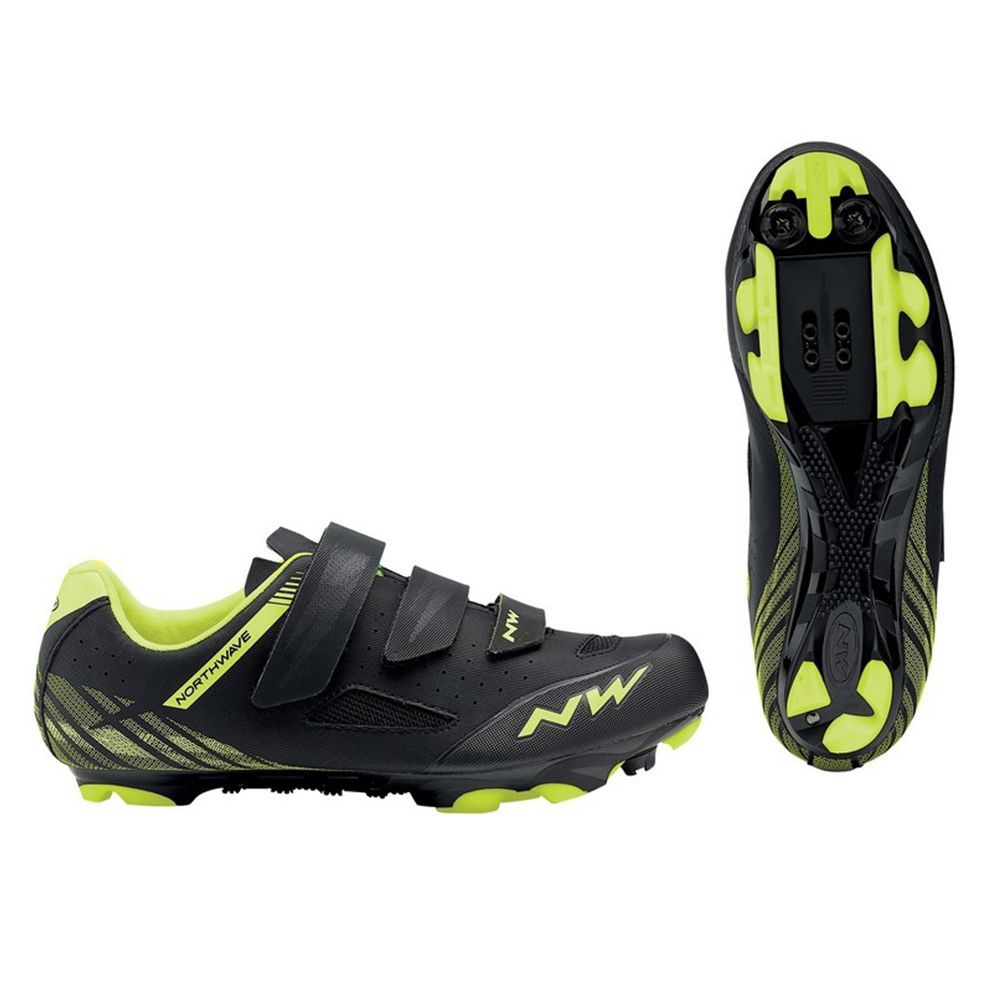 Zapatillas Northwave Origin Negro/Amarillo Fluor