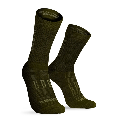 Calcetín Gobik Winter Merino Unisex Army