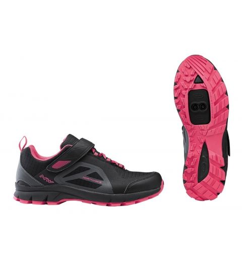 Zapatilla NW Escape Woman EVO MTB Negro/Fucsia