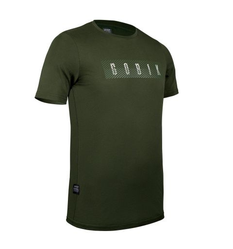 Camiseta Gobik Manga Corta Hombre After Ride Overlines Army