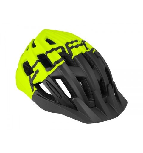 Casco Force Corella Negro Fluor