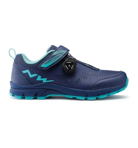 Zapatillas Northwave Corsair Woman Azul/Aqua