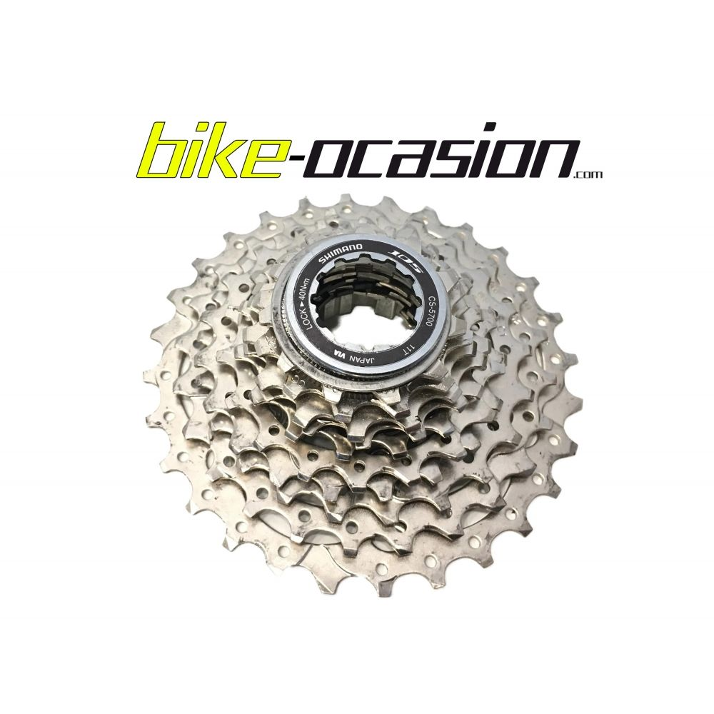 Cassette Carretera 2ª Mano Shimano 105 CS-5700 10V 11/28.
